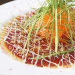 SQUARE MEALS みなもと - 本日鮮魚のカルパッチョ