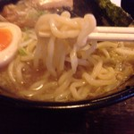 55871411 - 豚骨醤油 太麺