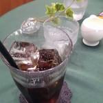 ロビー喫茶 サリダ - アイスコーヒー