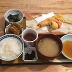 魚肴おばんちゃい - 穴子天御膳