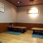 平沼 田中屋 - 小上がり席