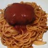 ヴァンガード - 料理写真:スパゲッティ・ハンバーグセット 600円