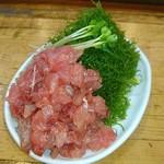 和可奈鮨 - >゜)))彡〰 あじのたたきは 別皿盛りで♥
