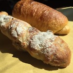 ベーカリー ワタナベ - ほぼ、栗とナッツで出来たハードパン♡♡
