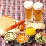 ニュープラシッダ - 料理写真:ビールセット