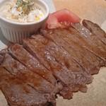 イマザトひでぞう - 黒毛和牛サーロインステーキ