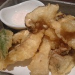 イマザトひでぞう - 松茸の天ぷら