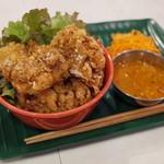 カリ~ アンド スパイスバル カリ~ビト - タンから丼 ムングダールカリ~付(900円)