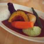 55881897 - 野菜カレー