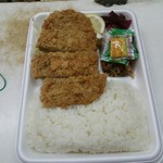 わせだの弁当屋 - とんかつ弁当 ¥380