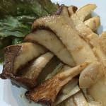めし太郎 - エリンギのバター焼き