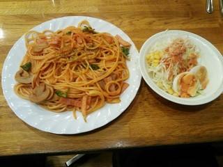 モカ - スパゲッティーナポリタン ¥720