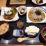 55887064 - 豆腐ハンバーグ御膳