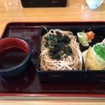 直利庵 - 料理写真:天ざる(1000円)コスパは低い