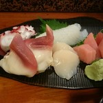 寿し清 - 料理写真:刺身盛り