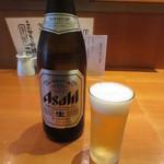 あかとら - 瓶ビール(中瓶) 540円 (2016.9)
