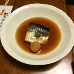 55895878 - 鯖の煮付け:梅干しが入っています