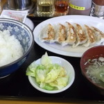 味の北京亭 - 餃子定食