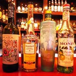 BAR-KOH - シェリー酒+カルバドス+マスカットリキュール+青りんごのリキュール