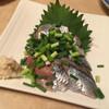 焼鶏館 - 料理写真:サンマ刺し