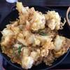 資さんうどん - 料理写真:鶏天とじ丼