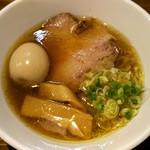 中華ソバ 煉虎 - 味玉醤油ラーメン