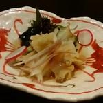 和洋膳 茶の花 - 料理写真:「梅貝酢」