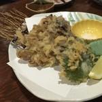 北野水産 - 舞茸の天ぷら