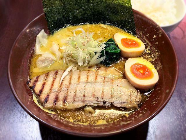 しゅういち 恵比寿店 - 特製カレーらぁ麺¥980 2016.9.2