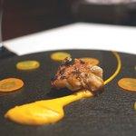 レスト ケイ ヤマウチ - 高知産金目鯛の炭焼き オランジェ