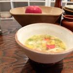 カッフェ トムテ - 野菜のスープ