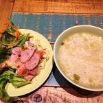 55916408 - サラダ&スープ