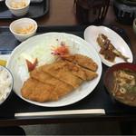 串かつ処宮カツ - 料理写真:カツ定 ライス大盛