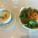 東海カントリークラブレストラン - セットサラダ       2016年9月10日
