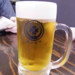 東京MEAT酒場 - 安かったビール 泡あり