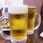 東京MEAT酒場 - 泡ありと泡なし