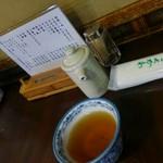 神田きくかわ - 卓上の調味料類