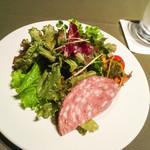 カフェコムサ - ランチ:サラダ