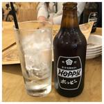 赤羽シルクロード トロ函 - ホッピーセット 380円外