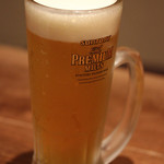 福の花 - 生ビール