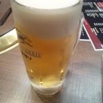 55927639 - ビール飲んだよ