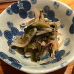 55928205 - 青菜ともやしとえのき茸の梅肉和え