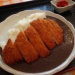 食堂&肉バル オツダネ - チキンカツカレー