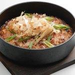 一番どり - 〈長芋のお好み焼き〉長芋と大和芋に少量の味噌を練りこみ、お好み風に焼き上げたサクフワッの新食感。