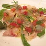 イタリアンバル アルマドーレ - 料理写真:イサキのカルパッチョ