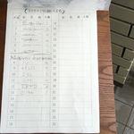 みさき - 予約表