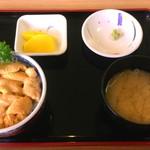 みさき - ミニうに丼(むらさきウニ) 1700円