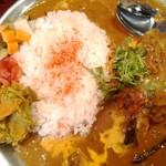 55931290 - butter chicken curry