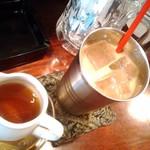 55931295 - cold chai tea