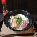 オーガニックキッチンFarve - 沖縄そば700円